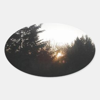 Adesivo Oval Último bocado da energia