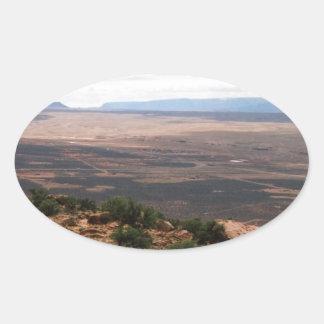 Adesivo Oval Vale de Utá