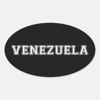 Adesivo Oval Venezuela