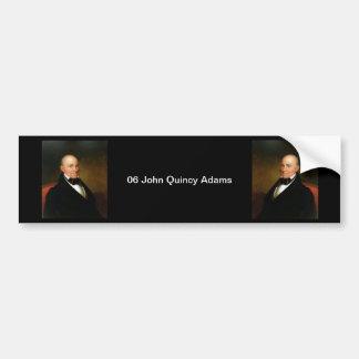 Adesivo Para Carro 06 John Quincy Adams