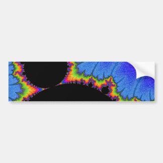Adesivo Para Carro 108-10 Mandy preta grande com aura do arco-íris