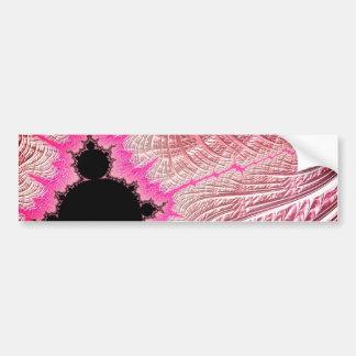 Adesivo Para Carro 108-11 Mandy preta no campo cor-de-rosa metálico