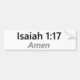 Adesivo Para Carro 1:17 de Isaiah