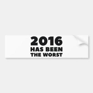 Adesivo Para Carro 2016 foram o mais mau