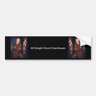 Adesivo Para Carro 34 Dwight David Eisenhower