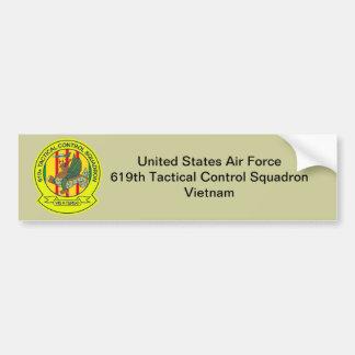 Adesivo Para Carro 619th Esquadrão Vietnam do controle tático