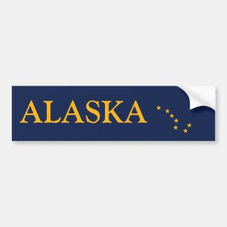 Adesivo Para Carro A bandeira de Alaska