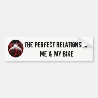 Adesivo Para Carro A etiqueta perfeita da relação