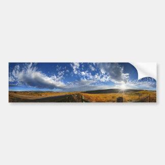 Adesivo Para Carro A manhã de Montana coloca o panorama da paisagem