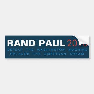Adesivo Para Carro A margem Paul desencadeia o sonho americano