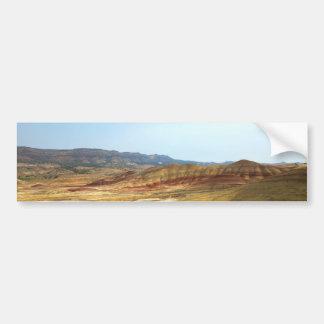 Adesivo Para Carro A opinião do banco em colinas pintadas negligencia