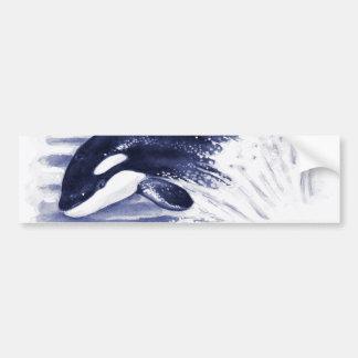 Adesivo Para Carro A orca do bebê salta
