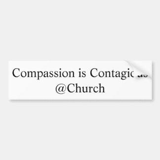 """Adesivo Para Carro A """"piedade é etiqueta do @Church contagioso"""""""