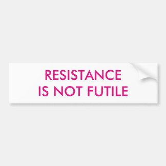 Adesivo Para Carro A resistência customizável não é inútil