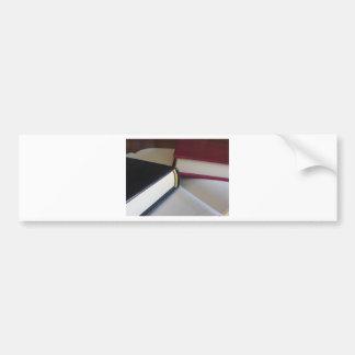 Adesivo Para Carro A segunda mão registra com páginas vazias em uma