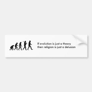 Adesivo Para Carro A teoria da evolução
