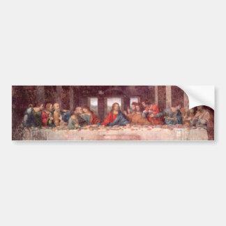Adesivo Para Carro A última ceia por Leonardo da Vinci, renascimento