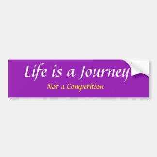 Adesivo Para Carro A vida é uma viagem