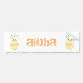 Adesivo Para Carro Abacaxi Aloha Havaí!