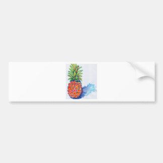 Adesivo Para Carro Abacaxi tropical