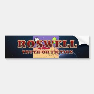Adesivo Para Carro ABH Roswell