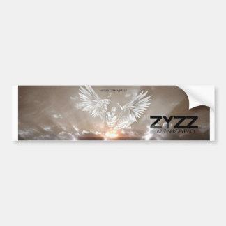Adesivo Para Carro Aborrecedores do poster de Zyzz que vão diar