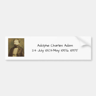 Adesivo Para Carro Adolfo Charles Adam, 1855
