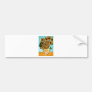 Adesivo Para Carro Ainda vida: Girassóis - Vincent van Gogh