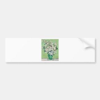 Adesivo Para Carro Ainda vida: Vaso com rosas - Vincent van Gogh