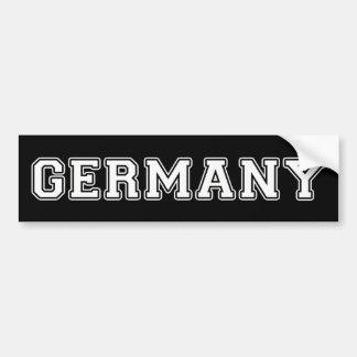 Adesivo Para Carro Alemanha