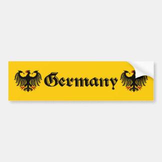 Adesivo Para Carro Alemão Eagle Alemanha