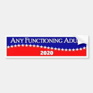 Adesivo Para Carro Algum adulto de funcionamento 2020