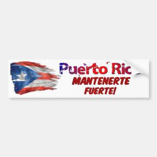Adesivo Para Carro Alivio de Puerto Rico - estada forte!