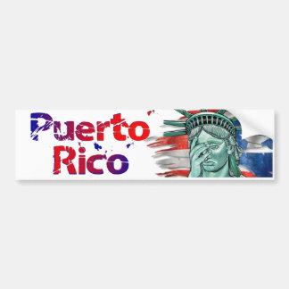 Adesivo Para Carro Alivio de Puerto Rico. Vergonha em você trunfo!