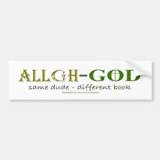 Adesivo Para Carro Allah significa o deus - o mesmo autocolante no
