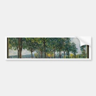Adesivo Para Carro Allée de árvores de castanha - Alfred Sisley