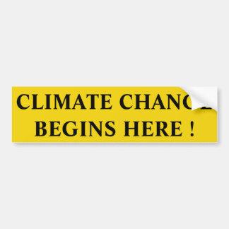 Adesivo Para Carro alterações climáticas