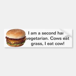 Adesivo Para Carro Amantes da carne