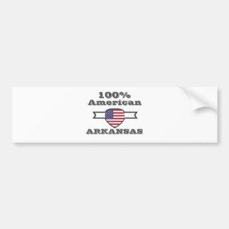 Adesivo Para Carro Americano de 100%, Arkansas