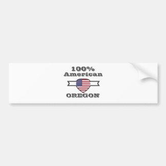 Adesivo Para Carro Americano de 100%, Oregon