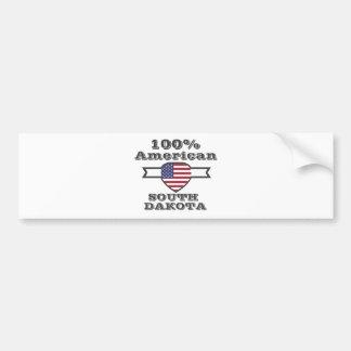 Adesivo Para Carro Americano de 100%, South Dakota