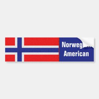 Adesivo Para Carro Americano norueguês