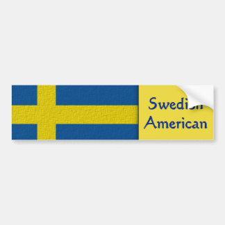 Adesivo Para Carro Americano sueco