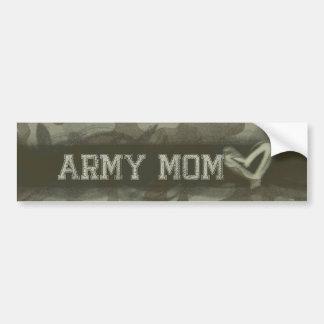 Adesivo Para Carro Amor da mamã do exército do Grunge da camuflagem