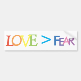 Adesivo Para Carro Amor > medo