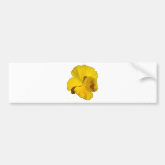 Adesivo Para Carro Amor perfeito amarelo 201711f