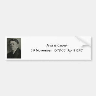 Adesivo Para Carro Andre Caplet