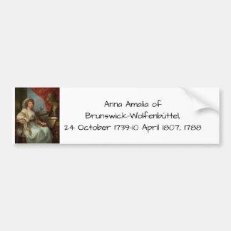 Adesivo Para Carro Anna Amalia de Brunsvique-Wolfenbuttel 1788