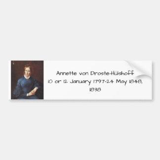 Adesivo Para Carro Annette von Droste-Hulshoff 1838