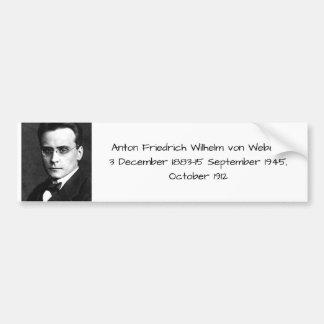 Adesivo Para Carro Anton Friedrich Wilhelm von Webern